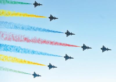庆祝中华人民共和国成立70周年阅兵掠影