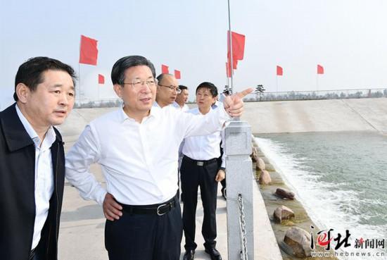 王东峰在石家庄市调研检查