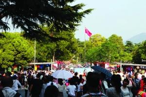 长假第三天南京七大景区迎来88.48万人次