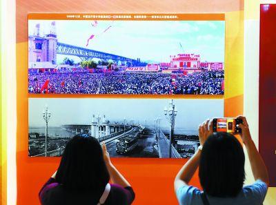南京长江大桥引发共同的中国记忆大桥通车照