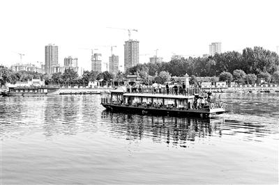 京杭大运河北京城市副中心段鸣笛通航