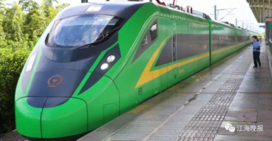 宁启绿巨人火车票开售 南京到启东3小时21分
