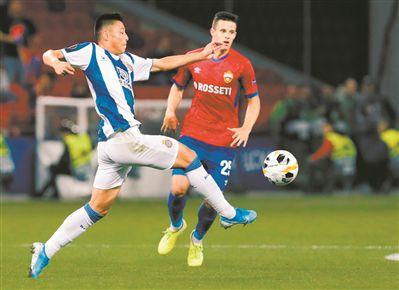 成中国男足欧战正赛进球第一人武磊用进球证明自己