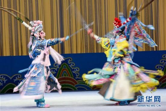 (XHDW)(3)乌鲁木齐:京剧院里赏名段