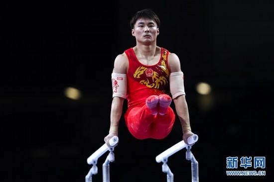(体育)(7)体操――世锦赛:中国选手角逐男子资格赛