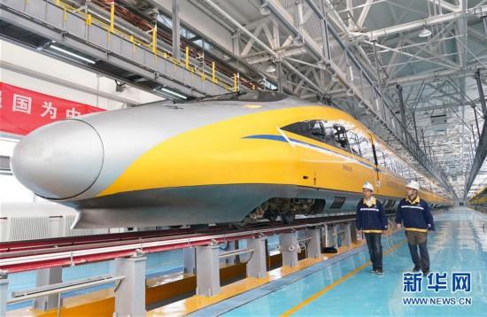 (经济)(3)京张高铁北京北动车所投入使用