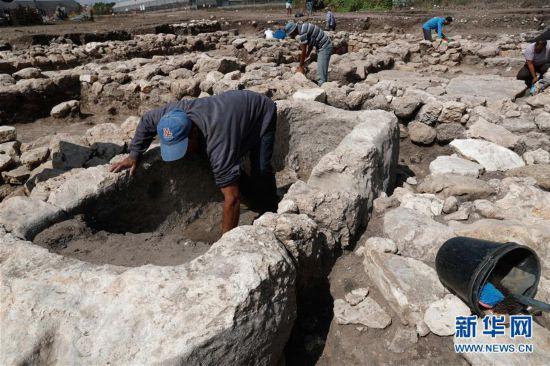 (国际)(1)选快三技巧_以色列发现5000年前迦南古城遗址
