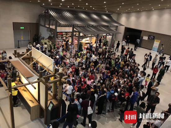 应接不暇 125万市民国庆节在成都逛博物馆