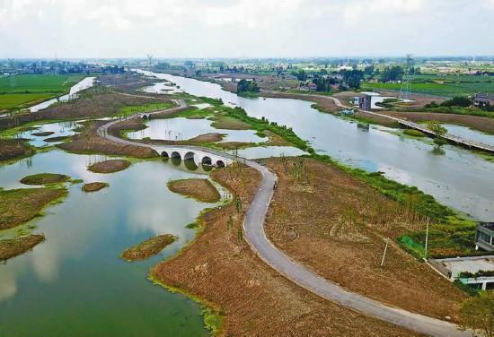 盐城盐都区聚力蟒蛇河旅游风景区建设