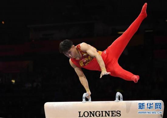 (体育)(10)体操――世锦赛:中国选手角逐男子资格赛