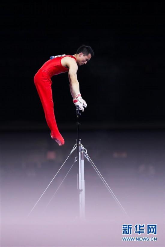 (体育)(5)体操――世锦赛:中国选手角逐男子资格赛