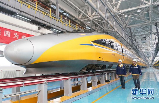 (經濟)(3)京張高鐵北京北動車所投入使用
