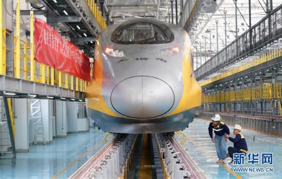 (經濟)(2)京張高鐵北京北動車所投入使用