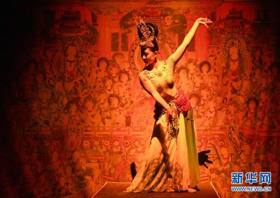 (文化)(5)《乐动敦煌》再现敦煌古乐文化