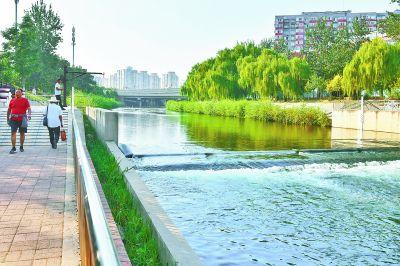 凉水河22.4公里步道步步皆景  开放河边步道有助共治