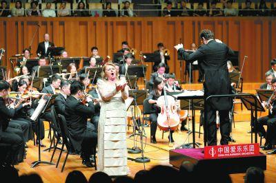 北京国际音乐节揭幕 加演《我爱你,中国》引发大合唱