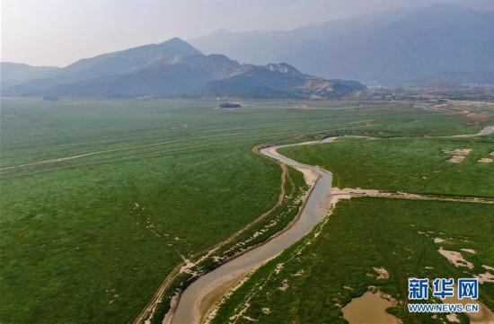 (环境)(1)鄱阳湖进入枯水期