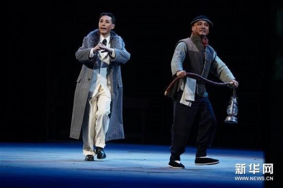(文化)(4)大发极速赛车开奖记录结果,原创现代昆剧《梅兰芳・当年梅郎》在南京上演