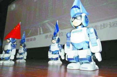 走进科博会看北京:在动画世界做超级英雄零距离体验科技魅力