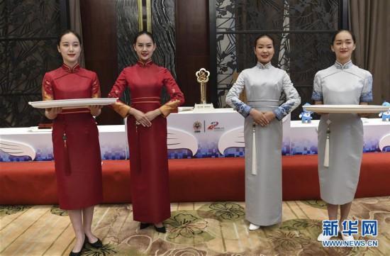 (军运会)(8)第七届世界军人运动会奖牌奖杯正式亮相