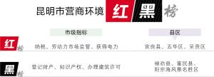 昆明发布云南省首份营商环境评估