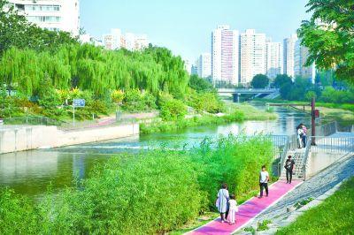 """凉水河生态景观提升工程:""""淘米式清淤""""去了凉水河臭味"""