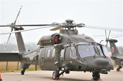 第五届中国天津国际直升机博览会开幕