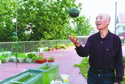 社区九旬高龄空巢老人王承祖收到了一份u28.cn与众不同的惊喜:几把水灵灵的奶白菜和几把绿油油的小油菜