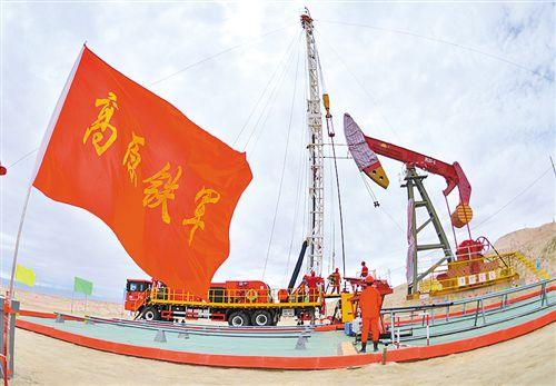 """青海油田:""""高原铁军""""传承发扬柴达木石油精神"""