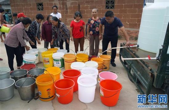 (农业)(1)江西多地出现旱情
