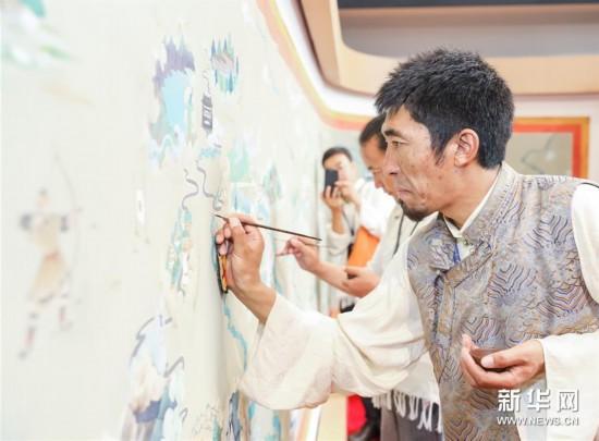 (图文互动)(3)寻访暮秋藏乡里的唐卡画师