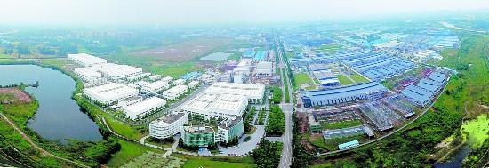 天府新區新能源新材料產業功能區. 圖片由邛崍市提供圖片
