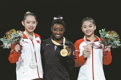世锦赛取得3银2铜中国体操26年来首次无金
