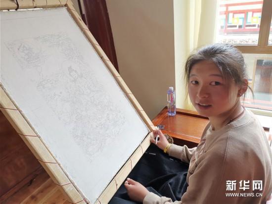 (图文互动)(2)寻访暮秋藏乡里的唐卡画师