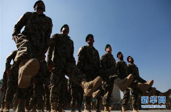 (XHDW)(1)阿富汗国民军新兵训练结业典礼