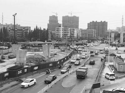 南京曉庄將構建全互通立交 紅山路隧道主體年底貫通