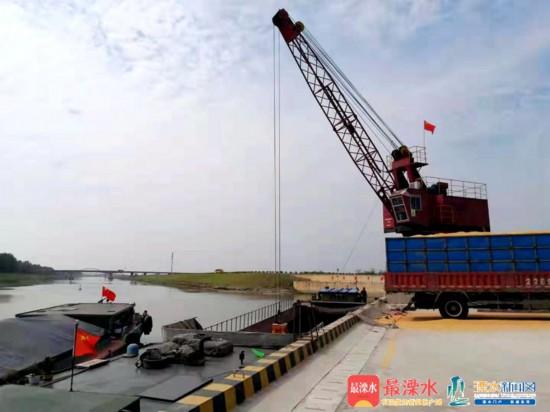 南京溧水首座现代化大型码头投入试运营