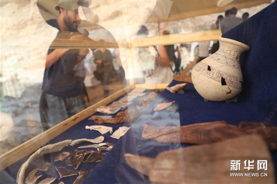 埃及卢克索首次发现古代工业区遗迹