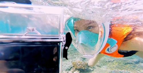 魏晨晒潜水视频宣布水下求婚成功