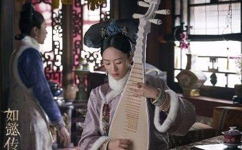 古装剧弹琴美人:杨幂郑爽上榜,最美的是《如懿传》里的她
