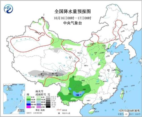 最赚钱的生意:西南地区西北地区东部有阴雨天气局部地区有暴雨