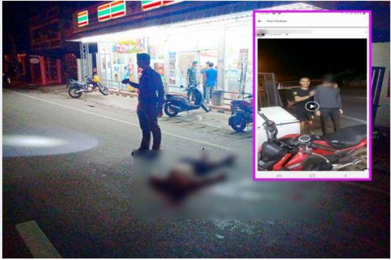 泰国一士兵挟持7名店员直播作案过程后举枪自尽