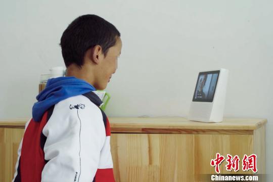 """人工智能走进西藏特殊教育学校以""""声""""为""""眼""""助力盲童阅读"""