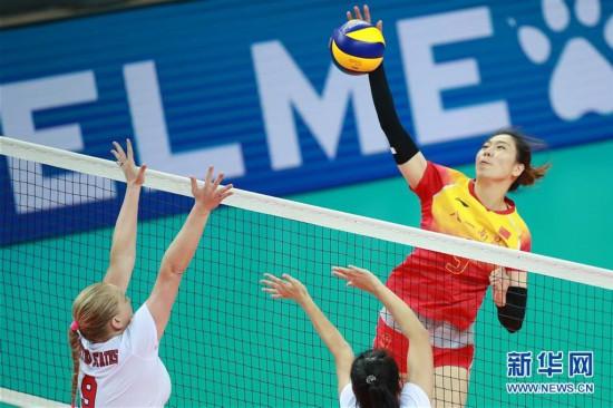 军运会女排首轮中国八一队迎来开门红