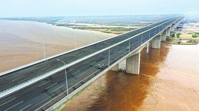 国道107官渡黄河大桥正式通车