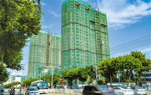 """海口城市建设的绿色理念 精准化管理工程项目 """"六个100%"""""""