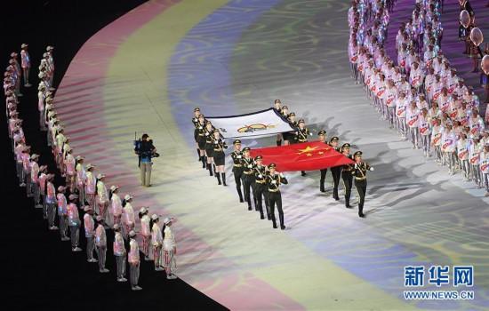 (军运会)(41)第七届世界军人运动会在武汉开幕