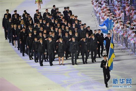 (军运会)(28)第七届世界军人运动会在武汉开幕