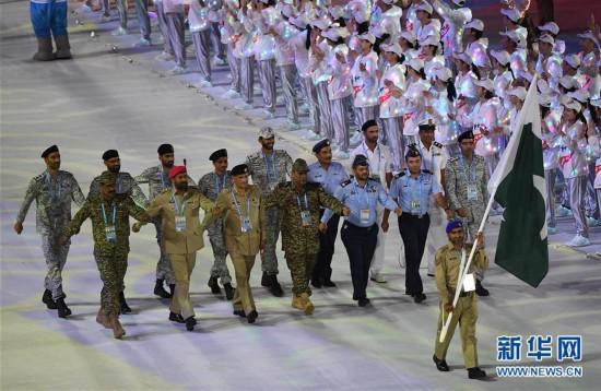 (军运会)(23)第七届世界军人运动会在武汉开幕