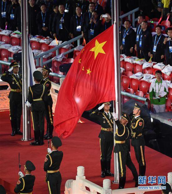 (军运会)(38)第七届世界军人运动会在武汉开幕